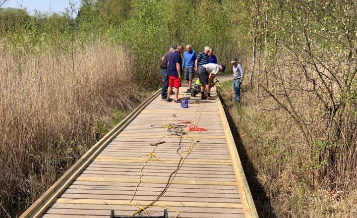Broen på hul 15 renoveret
