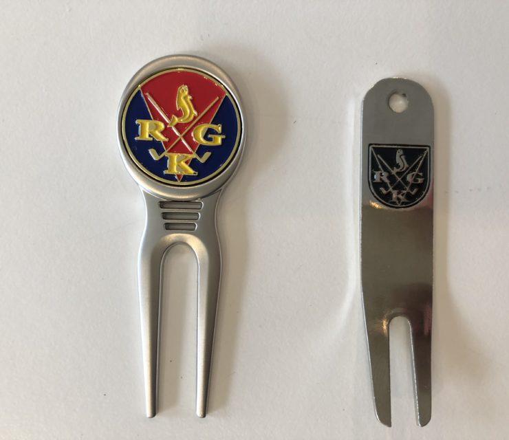 Nye pitchforks med RGK-logo