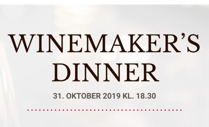 Winemaker´s Dinner d. 31. oktober