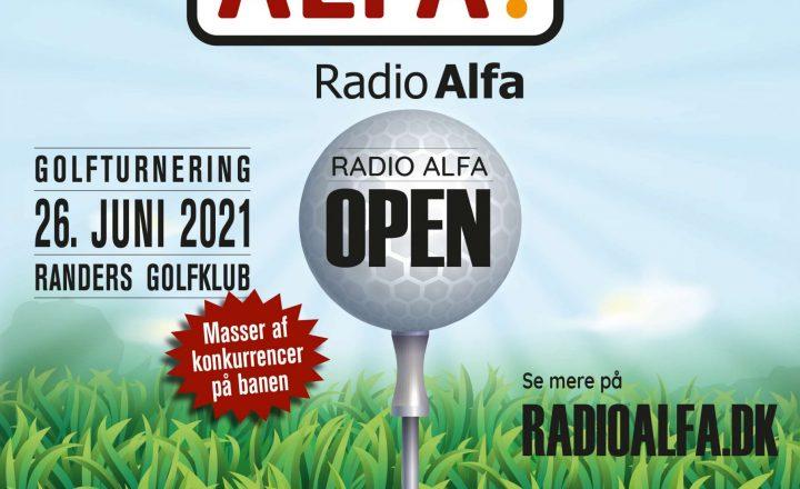 Invitation til Radio Alfa Open 26. juni